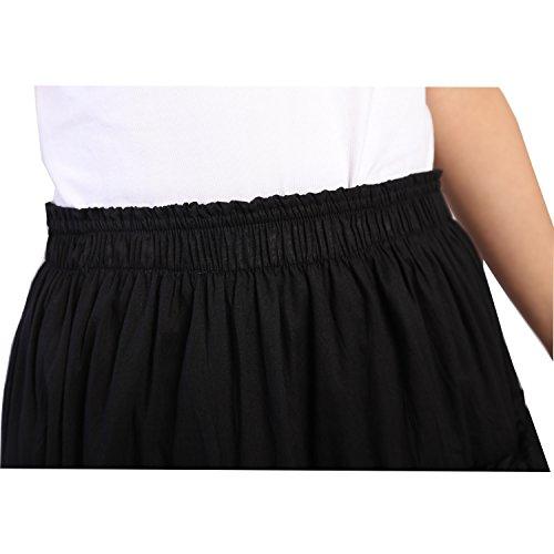 1f170833fa Vateno Gypsy Pleated Skirt Women Long Boho Maxi Skirts Spain Belly ...