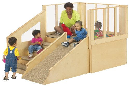 Jonti-Craft 9751JC Tiny Tots Loft, 12-24 Months without Bins by Jonti-Craft