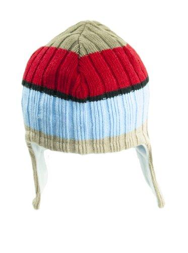 Chaud enfants bonnet d'hiver avec protection d'oreille–Couleurs assorties (Motif de 12)