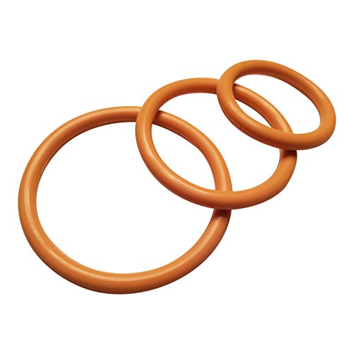 Penile-Cock-Ring-Silicone-Male-Erection-Enhancement-Stay-Hard-Set-of-3-Cockrings-Gold-Discreet-Packaging