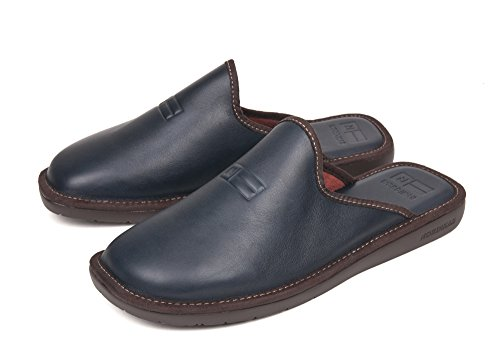 Nordika Blue Homme 46 Cuir Chaussons wYZUPqvw