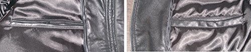 Nettailor 2039 Fine Leather Pea Coat Fashion for Men Large Size All Size by NETTAILOR (Image #4)