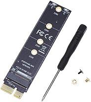 M.2 NVME SSD para PCI-e PCI Express X1 adaptador conversor placa de cartão
