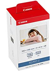 Canon Kp-108in Paper Ink And 108 Paper Sheet Set