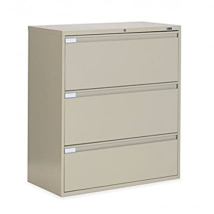 Genial Global 3 Drawer 42u0026quot; Wide Lateral File Cabinet, ...