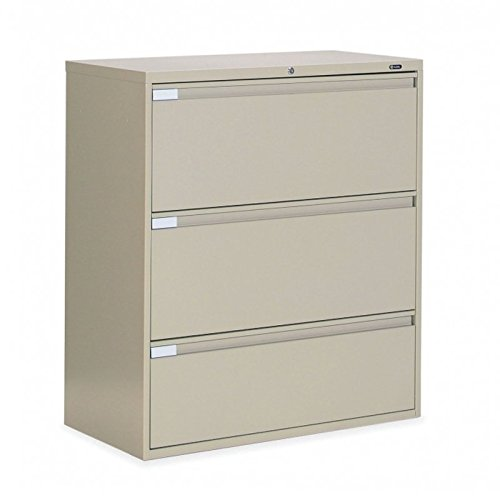 Global 3-Drawer 42″ Wide Lateral File Cabinet, Letter & Legal