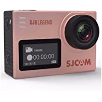 SJCAM SJ6 Legend 16MP Gyro Action Camera, 2 LCD Touchscreen, 4K at 24fps (Interpolation), 2K at 30fps, Rose Gold