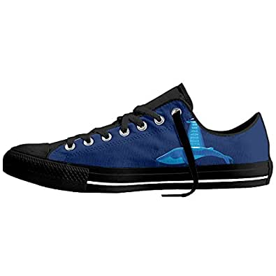 Alien Classic Lace-Updurable Men Women Low Top Canvas Sneakers Trainers For Tennis Athletic