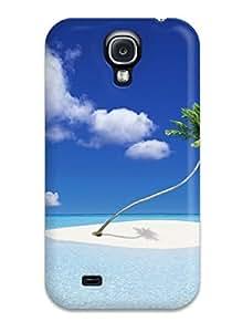 New Premium Flip Case Cover Beach Skin Case For Galaxy S4