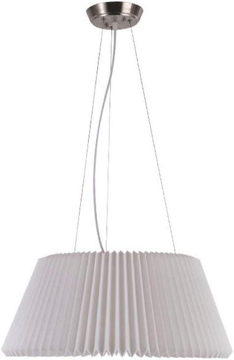 Xyh723 Lampara Ventilador Techo - Aplicación: Villa/Hotel/Tienda De Ropa/Comedor-Talla: Diámetro 57cm * Altura 27cm (Arte De Hierro + Acrílico) (Blanco) lamparas de Techo Vintage