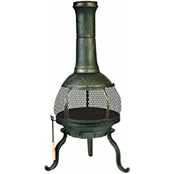Kay Home Products Deckmate Sonora Outdoor Chimenea Fireplace Model 30199