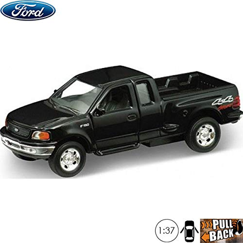 1:37 Scale Diecast Metal Model Pickup Truck 1999 Ford F-150 Flareside Supercab Russian Die-cast Toy Cars