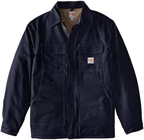 814acfb8e680 Carhartt Men s Big   Tall Flame Resistant Duck Traditional Coat