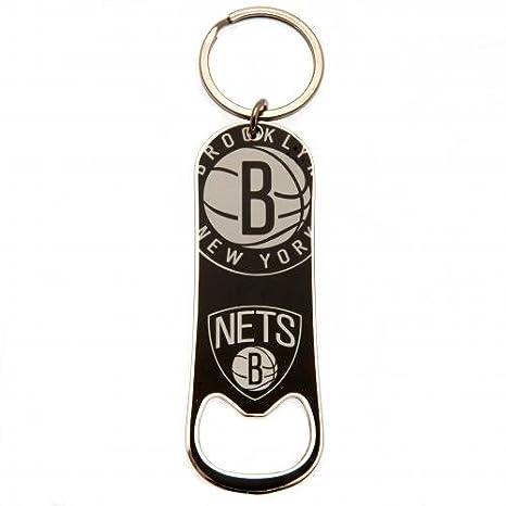 Brooklyn Nets botella abridor Llavero oficial Merchandise ...