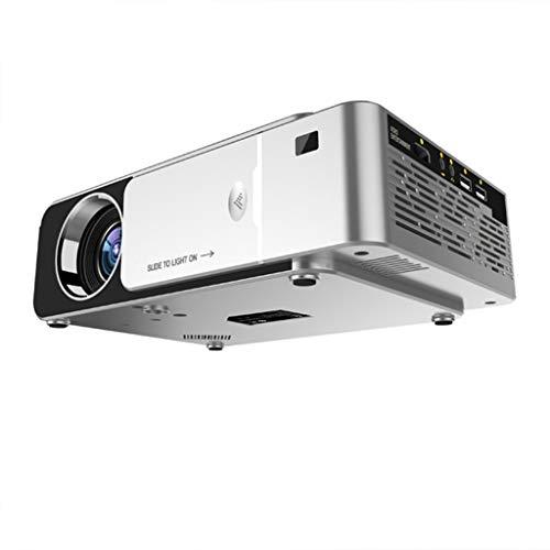 KÜNSTLICHE BLUME Projector, Heimkinoprojektor 1080P (1280 * 720) LED Video Beamer Tragbarer Full HD, Unterstützt HDMI…