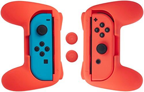 AmazonBasics Grip Kit for Nintendo Switch Joy-Con Controller
