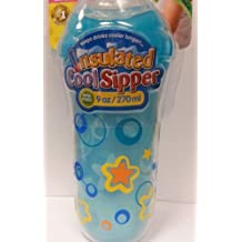 Nuby 9 oz No-Spill Insulated Cool Sipper, Teal