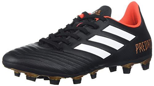adidas Unisex ACE 18.4 FxG Soccer Shoe, core Black/White/Solar red, 6.5 M US Big Kid