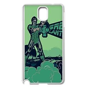 Samsung Galaxy Note 3 Cell Phone Case White Green Lantern Smoke G6P8JS