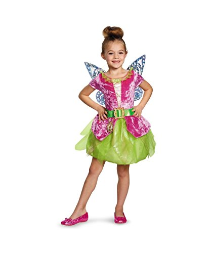 Tinker Bell and the Pirate Fairy Pirate Tink Toddler Girls Costume Toddler (3T-4T) (Tinkerbell Pirate Fairy Costume)