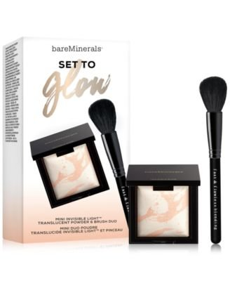 Bare Escentuals 2-Pc. Set To Glow Mini Invisible Light Trans