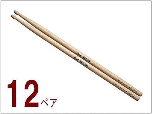 パール(Pearl)ドラムスティック(一般的なサイズ)新モデル(オーク:9AC)12ペアセット ラッカーコーティング仕様   B00SZNKXRY