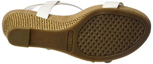 White Aerosoles Nite Women Sandal by Plush A2 Wedge x0pqa15nw