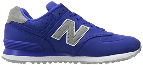 New Balance  Ml574 Luxe Rep Pack, Baskets mode pour homme - bleu - Uv Blue/Uv Blue,