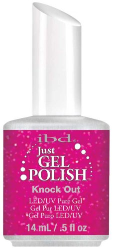 IBD Just Gel Knock Out Soak Off Nail Polish UV LED Salon .5