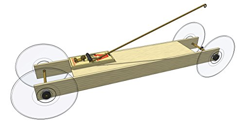 Basic Mousetrap Car Kit: by Doc Fizzix