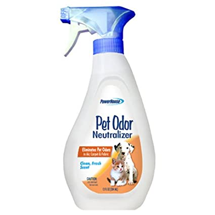 Amazon.com : PowerHouse Pet Odor Neutralizer with Trigger Spray, 13 Ounce : Pet Odor And Stain Removers : Pet Supplies