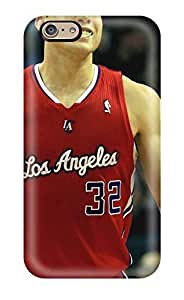 Fashion Case Anti-scratch And Shatterproof Los Angeles Clippers Basketball Nba cell phone case cover For Iphone 6/ High Quality Tpu case cover Q7NFk23GeW9