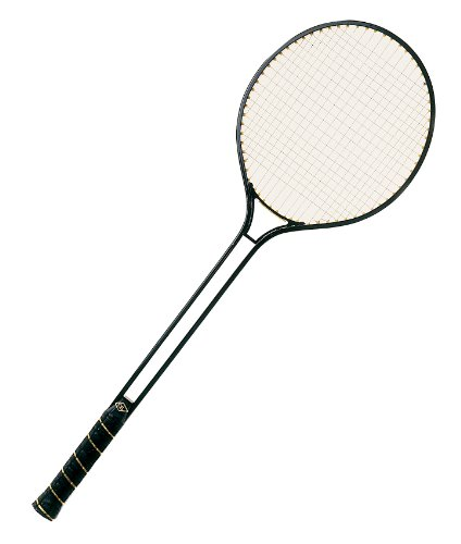 Champion Sports Aluminum Double Shaft Badminton Racket with Steel Strings For Sale
