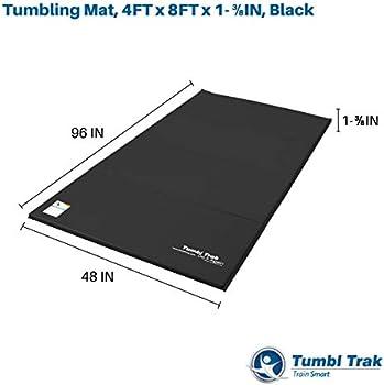 4FT x 6FT x 1-3//8IN Tumbl Trak Home Tumbling Mat