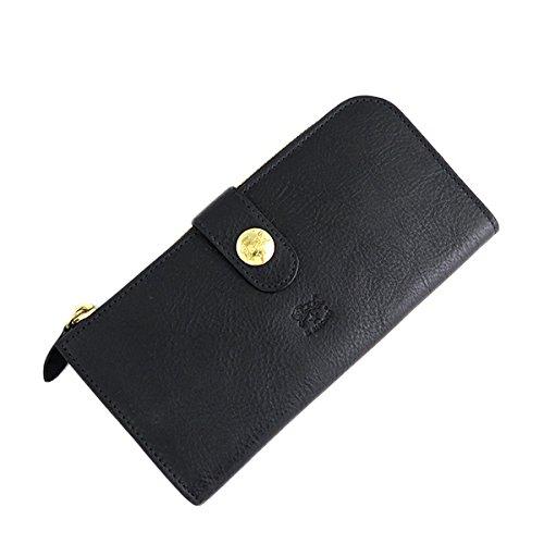 イルビゾンテ ILBISONTE 長財布 メンズ レディース C0782MP-153 ブラック 財布小物 財布 短財布 mirai1-560199-ak [並行輸入品] [簡易パッケージ品] B07FQZBVLV