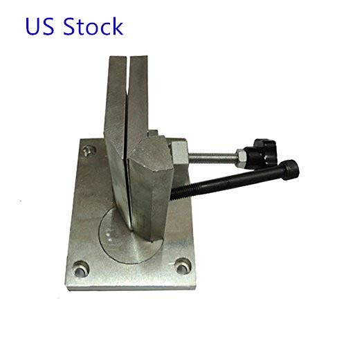 3.9 Inch Sheet Metal Letter Brake Dual-axis Metal Channel Letter Strip Angle Bender Bending Tool, Bending Width 100mm For stainless steel,aluminum extrusions and metal strips