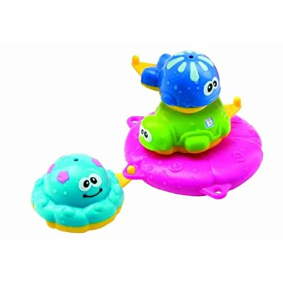 B kids Bath Stacking Pals Bathtub Toy (Discontinued by Manufacturer) : Bath Toys For Girls : Baby