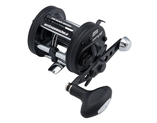 Baitcast Reel Pro (Abu Garcia Ambassadeur Pro Rocket BE Baitcast Reel with 6500 5.3:1 Gear Ratio 5 Bearings 26