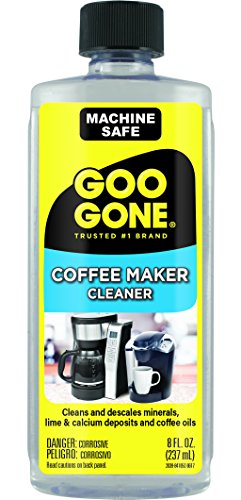 8 Fl Oz Bottles Coffee (Goo Gone Coffee Maker Cleaner, 8 Fluid Ounce)