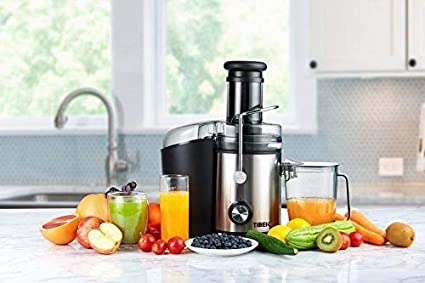 TIBEK - Licuadora extractora de zumos, 800 W, licuadora de frutas ...