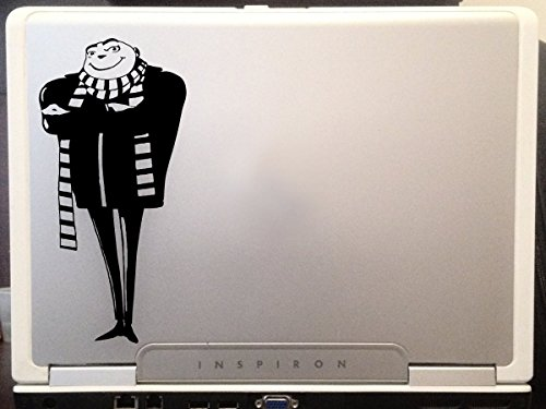 LA DECAL Despicable Me Felonious Gru is the main protagonist car Truck Decal sticker 6
