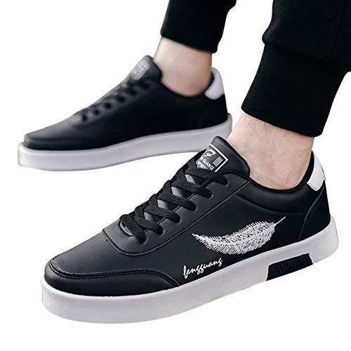 Respirantes Black Pour Rétro Sport De Chaussures Hommes Décontractées Lanlan gW8v0O1