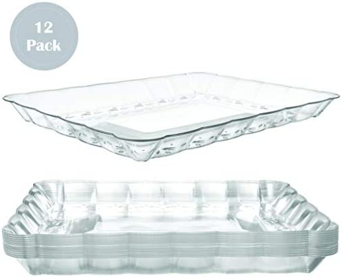 Plastic Serving Trays Rectangular Disposable product image