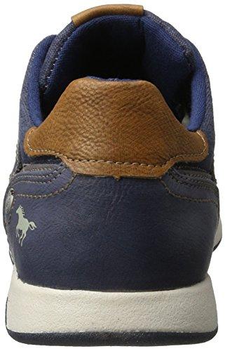 800 4114 800 Herren 304 Blau Sneakers Mustang dunkelblau qHFwY