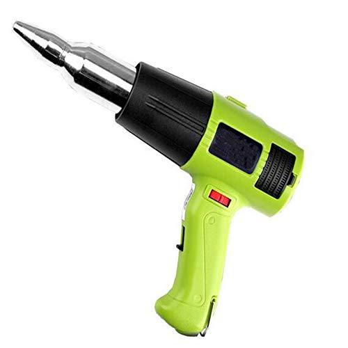 - 1000W Heat Gun 220V Adjustable Temperature Hot Air Gun Fast Heating Blower Kits for molding Plastics Removing Rusted Bolts or Softening Caulk Around The Sink