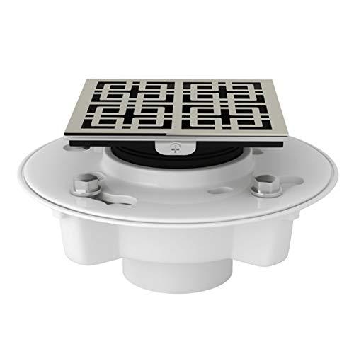 Rohl SDPVC2/3-3142PN Decorative Shower Drain, Weave, Polished Nickel