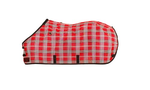 Kensington Pony Protective Sheet, Deluxe Red Plaid, Size 54 by kensington products