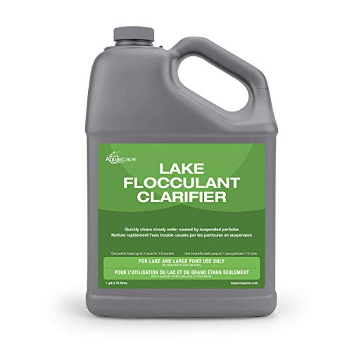 (Aquascape Water Flocculant Clarifier for Lake and Large Pond, 1 gal | 40023)