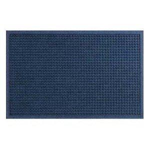 Waterhog Classic Entry Door Mat Navy Color, 2' X 3' with Rubber Water Dam Border for Indoor or (Waterhog Indoor Outdoor Rug)