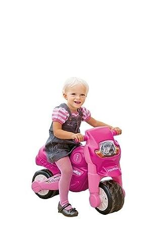 Juguettos Moto Niña Rosa